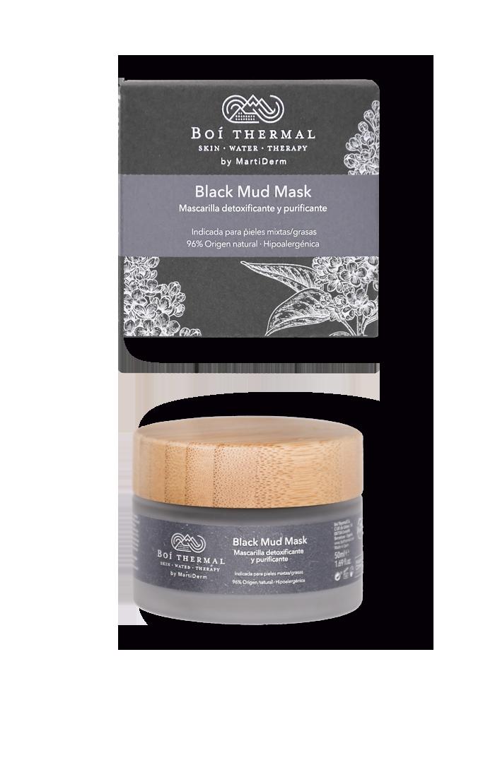 Boi thermal Black Mud Mask